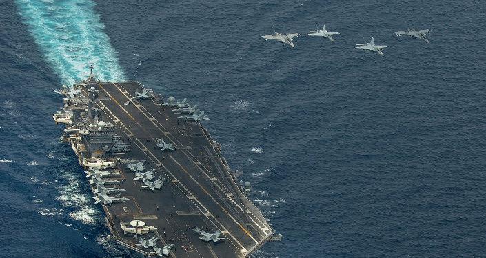 USS Carl Vinson da Marinha dos EUA