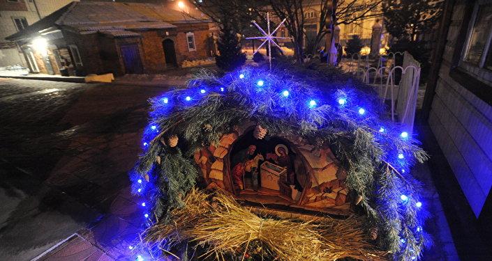 A Festa natalina ortodoxa simboliza a reconciliação do homem com Deus