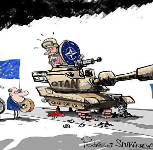 Quem ajuda 4.000 soldados da OTAN chegar ao Leste da Europa?