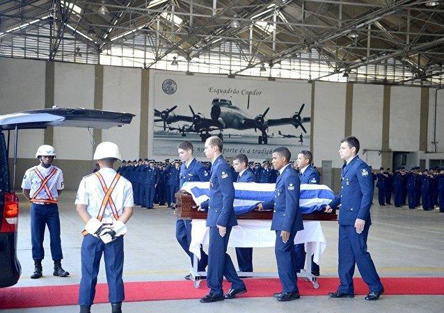 Cerimônia fúnebre do embaixador da Grécia no Brasil