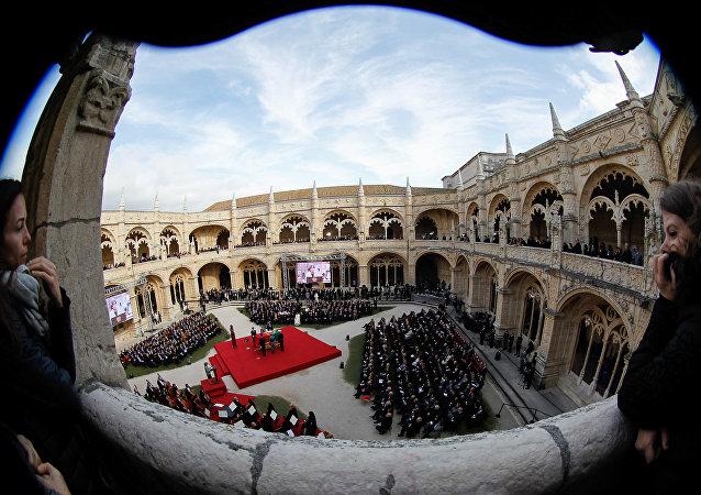 Funeral do ex-presidente e ex-primeiro-ministro de Portugal Mário Soares, em Lisboa