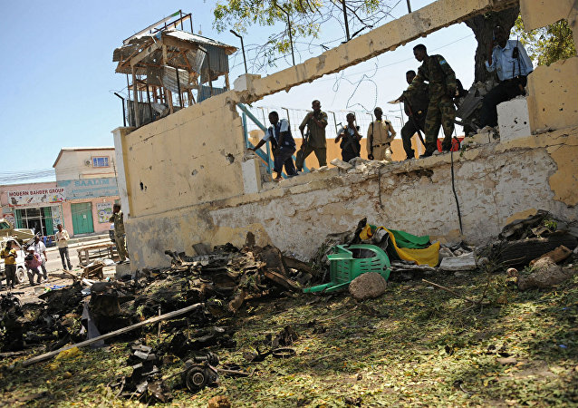 Ataque do Al Shabab a ministérios da Somália.