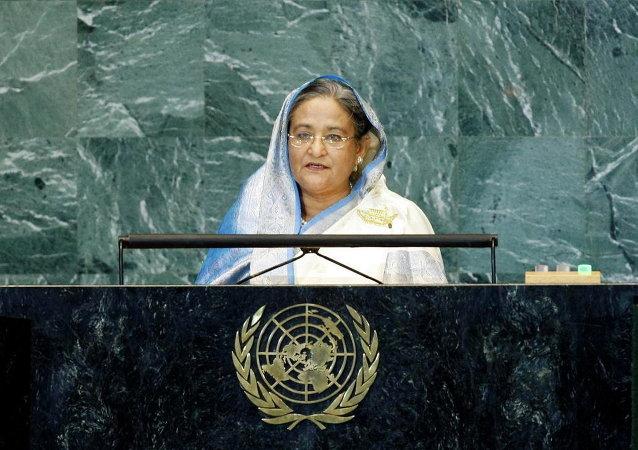 A premier do Bangladesh, Sheikh Hasina