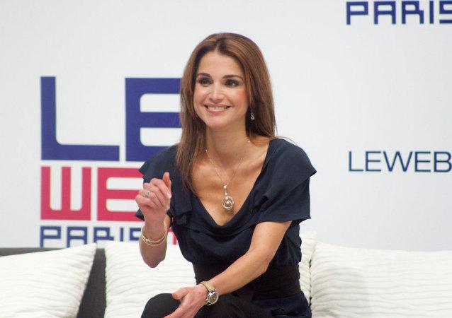 Rania, rainha consorte da Jordânia desde 1999