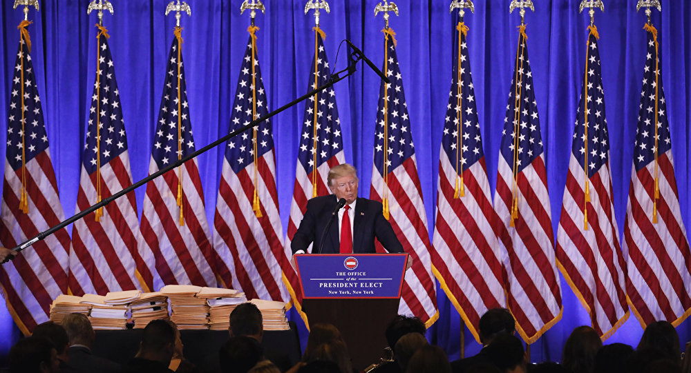 Donald Trump coletiva