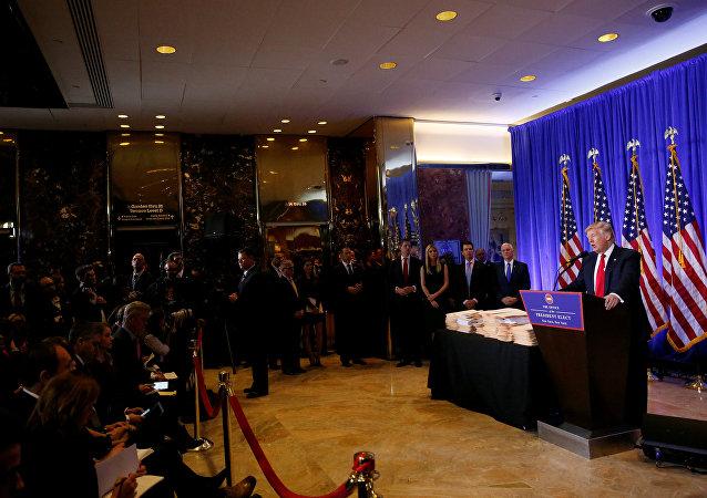 Torre Trump Donald Trump coletiva