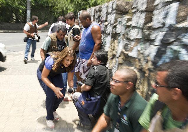 Cresce violência contra jornalistas