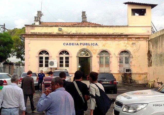 Comissão De Direitos Humanos visita a Cadeia Pública de Manaus