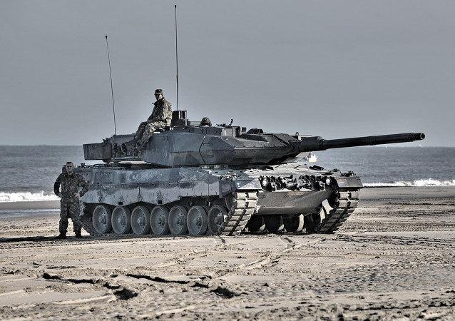 Tanque alemão Leopard (arquivo)