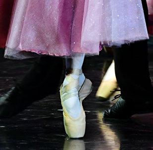 Bailarina - foto de arquivo