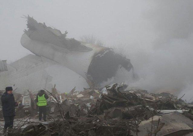 Acidente com avião de transporte turco