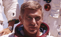 Eugene Cernan, astronauta norte-americano, último homem a pisar na Lua