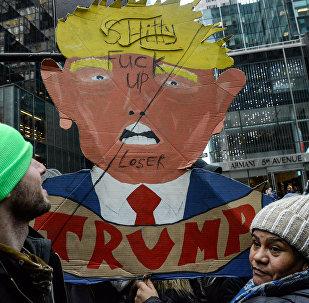 Protestos em Nova Iorque