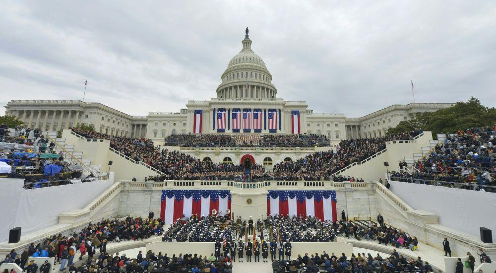 Vista do Capitólio em Washington