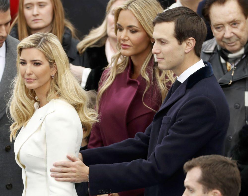 Ivanka Trump com seu marido Jared Kushner