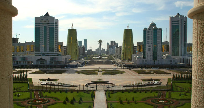 Astana, capital do Cazaquistão