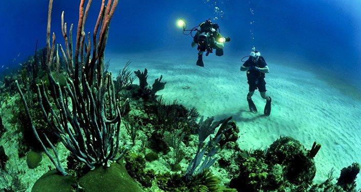 Exploração do fundo marítimo