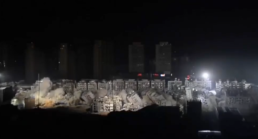 Explosão em Wuhan na China