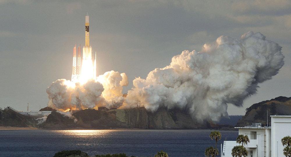 Primeiro satélite de comunicações militar japonês da Mitsubishi Heavy Industries