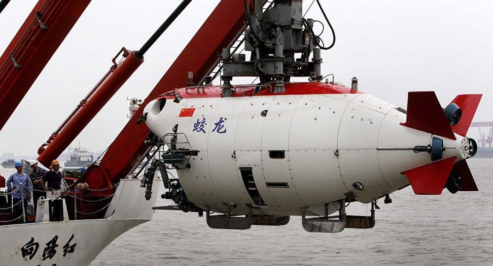 Aparelho submersível chinês Jiaolong