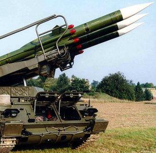 Sistema de defesa antiaérea russo ZRK 2K12 KUB