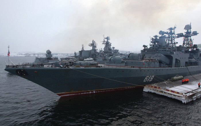 Navio russo Severomorsk entra no Canal da Mancha - Sputnik Brasil - Sputnik Brasil