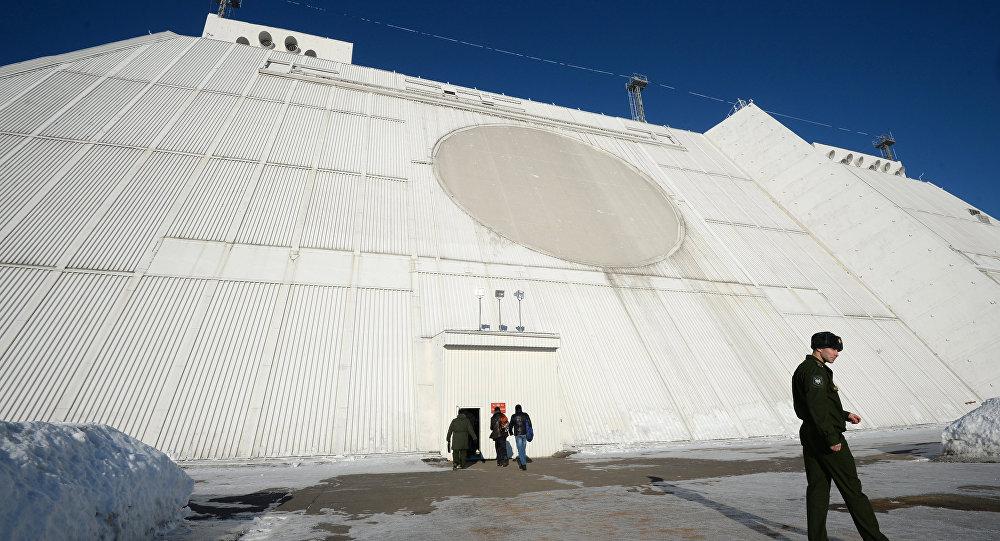 Estação de radiolocalização criada no âmbito do sistema antimíssil de Moscou