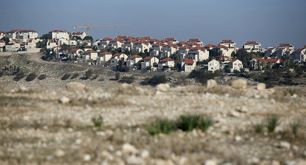 Parte do assentamento israelense de Maale Adumim, em território ocupado na Cisjordânia