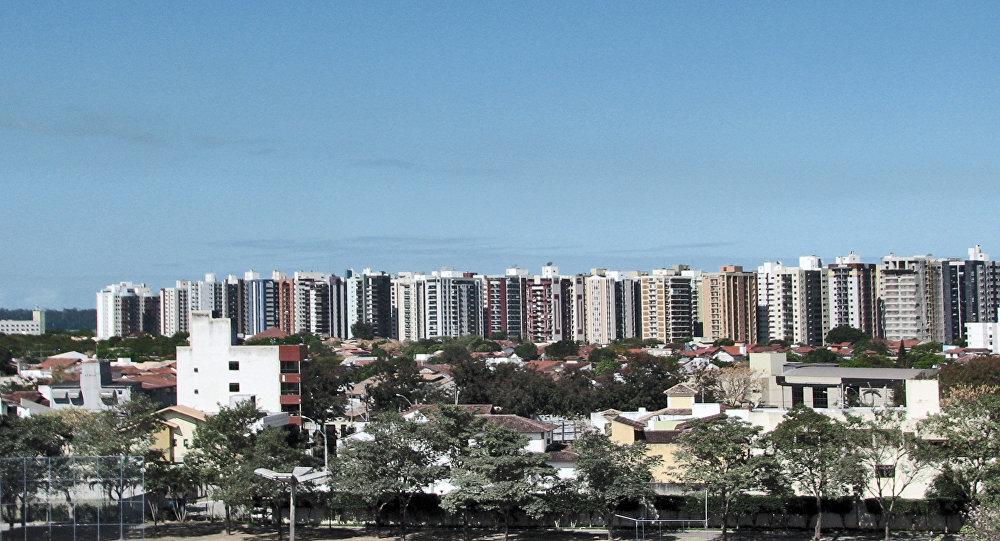 Vista da cidade de Vitória, foto de arquivo