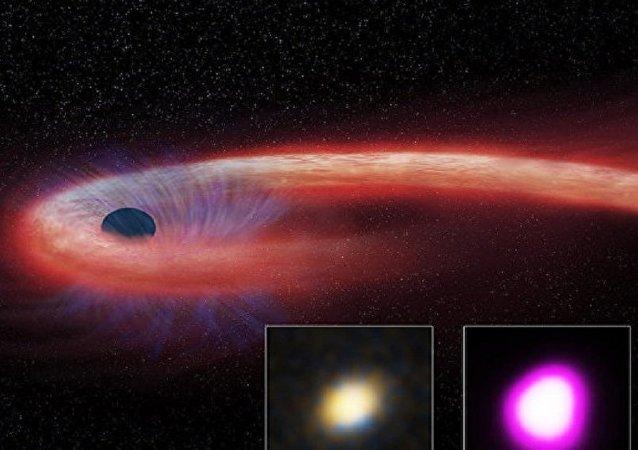 Buraco negro descoberto na galáxia
