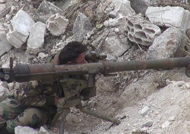 Tropas sírias estão detectando terroristas