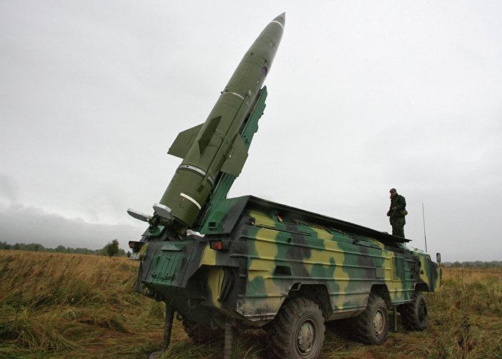 Sistema de mísseis balísticos russo Tochka