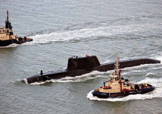HMS Astute, primeiro submarino nuclear da classe Astute