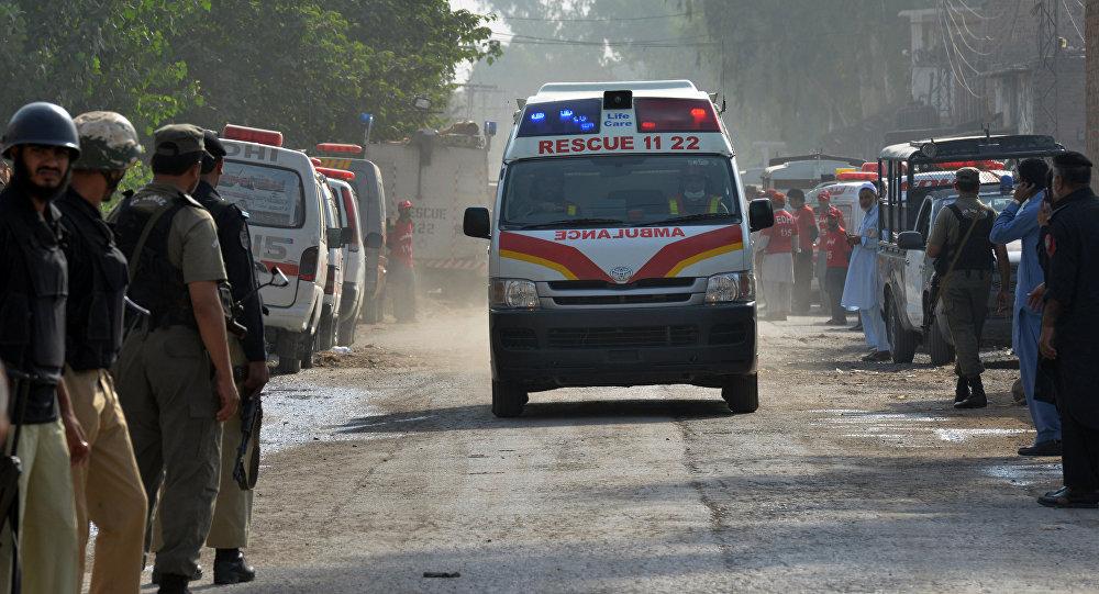 Ambulância paquistanesa (foto de arquivo)