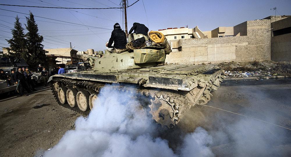 Tanque T-72 do exército iraquiano (foto do arquivo)