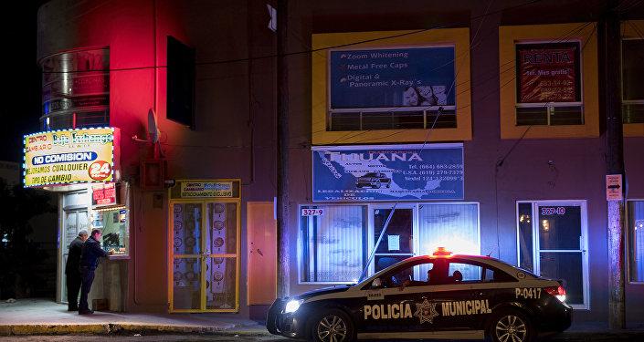 Policia municipal no México