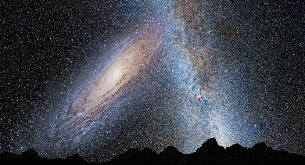 Hubble da NASA mostra que Via Láctea tem colisão frontal como seu destino