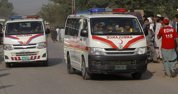 Ambulância no Paquistão (arquivo)