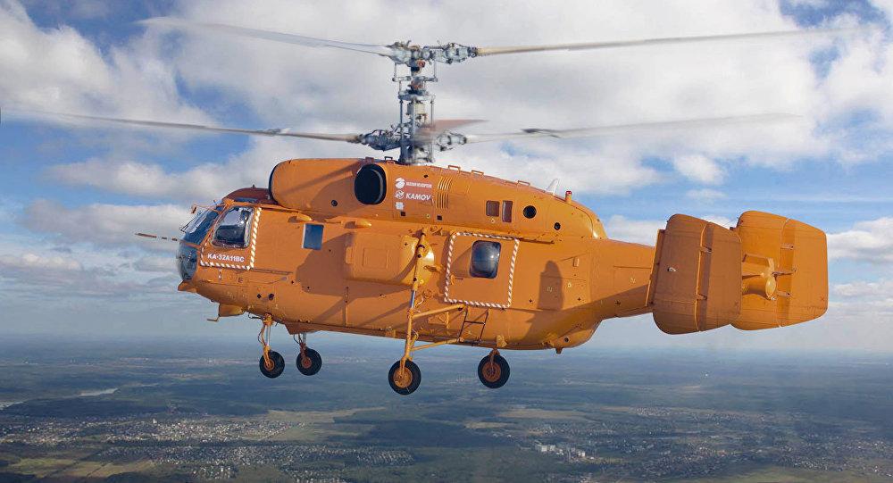 Rússia entrega helicóptero polivalente Ka-32A11BC ao Brasil