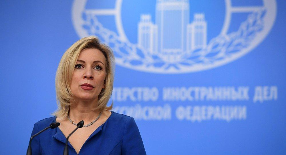 Briefing da representante oficial do Ministério das Relações Exteriores da Rússia, Maria Zakharova