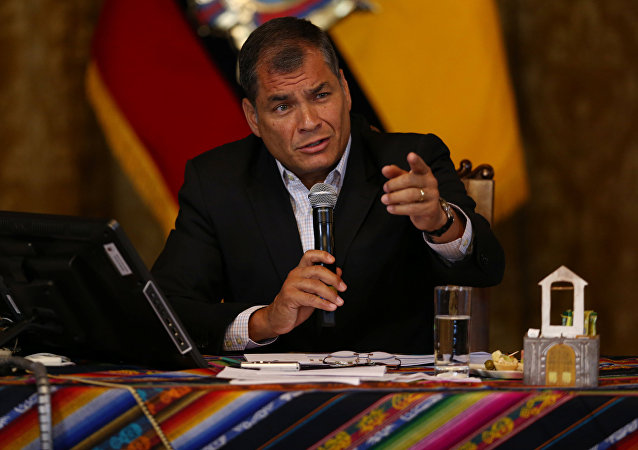 Presidente do Equador, Rafael Correa
