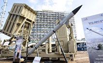 Sistema antiaéreo israelense conhecido como Cúpula de Ferro (Iron Dome, em inglês)