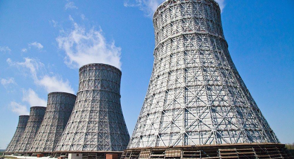 Terceiro e quarto reatores da usina nuclear russa Novovoronezhskaya