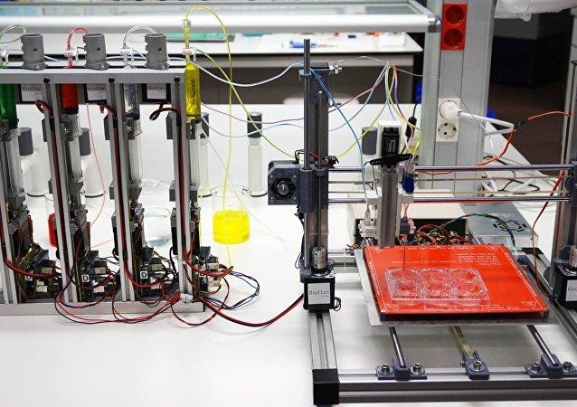 Protótipo da bioimpressora 3D capaz de gerar pele humana funcional, desenvolvido por cientistas espanhóis