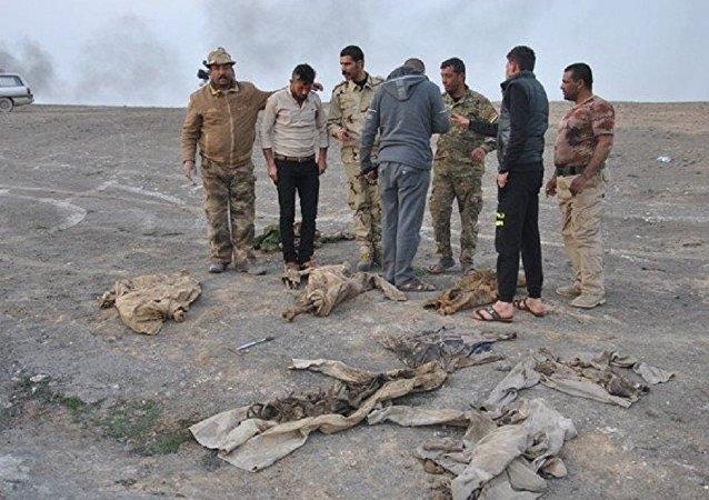 Vala comum encontrada no sul de Mossul