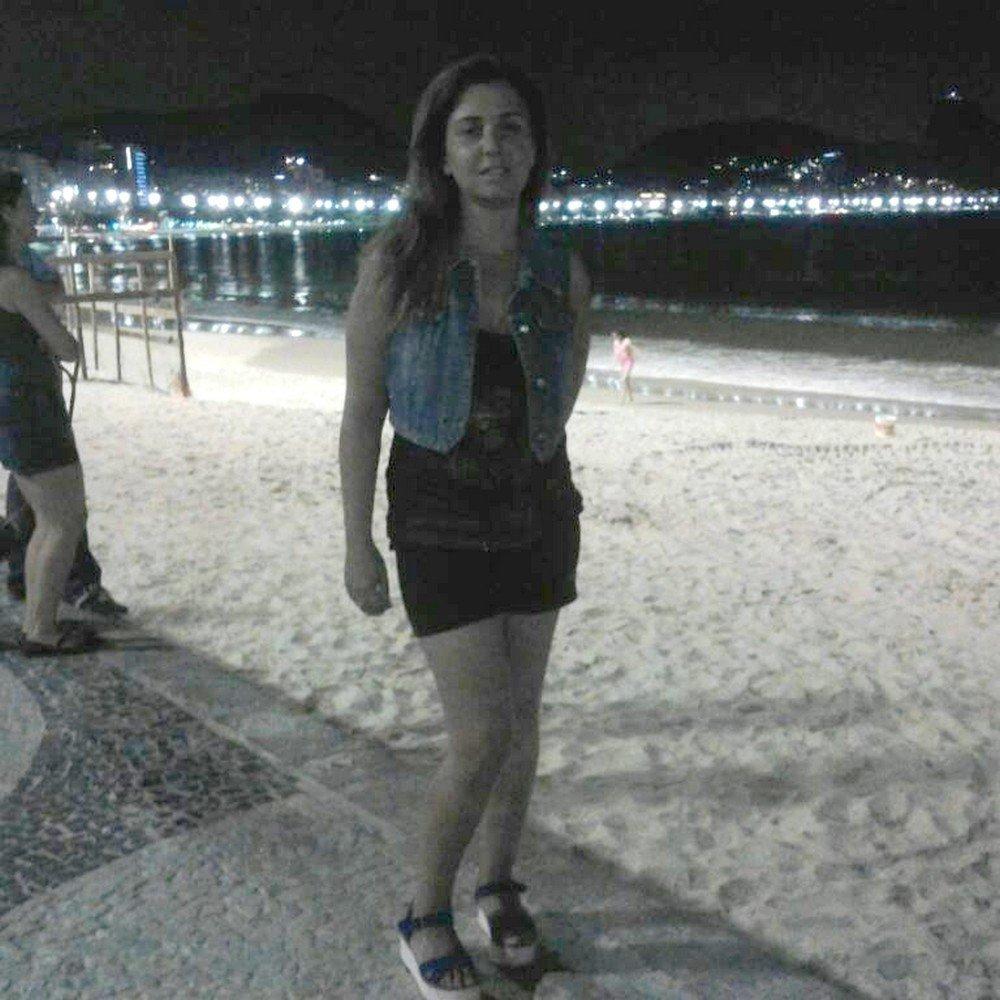 Natalia, o marido e um casal de amigos espanhois passeavam pelo Rio de Janeiro quando foram atacados