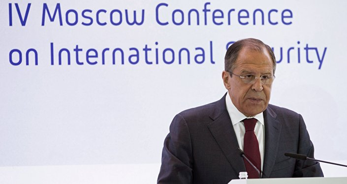 Sergei Lavrov na IV Conferência sobre a Segurança Internacional