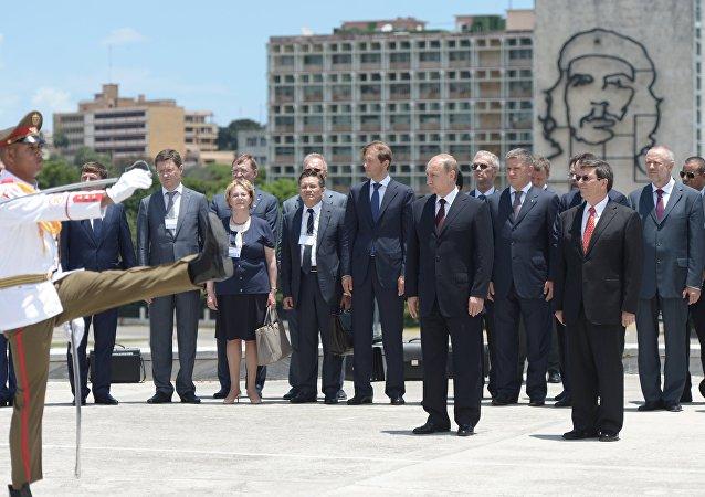 Visita oficial de Putin a Cuba
