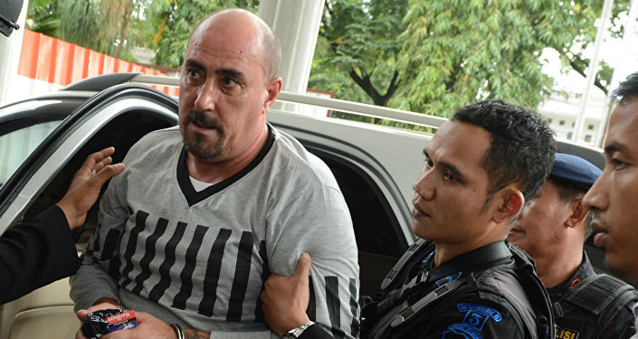 Serge Atlaoui, cidadão francês condenado a morte na Indonésia.