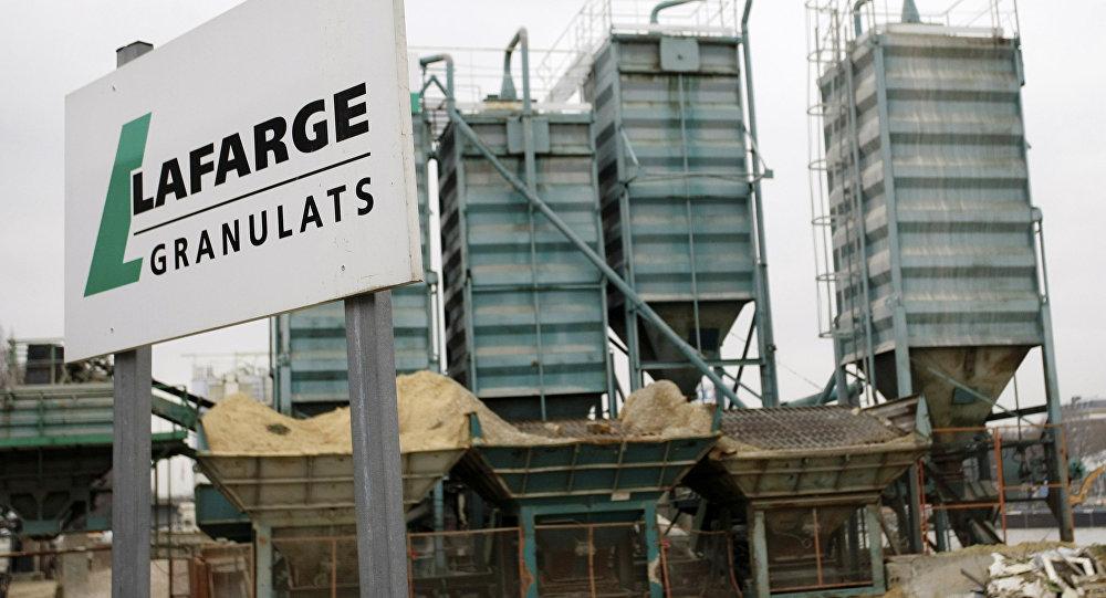 Na foto: uma fábrica da LafargeHolcim em Paris